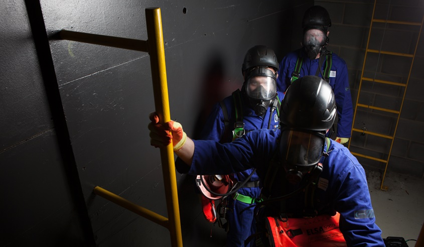 Confined Space Rescue and Recovery of a Casualty